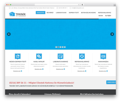 PressCore WordPress theme - teknikyapilab.com