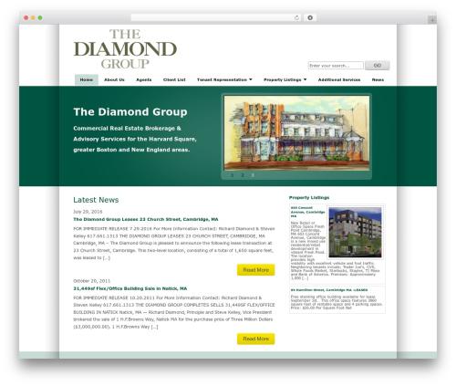 TekNium best real estate website - thediamondgroupre.com