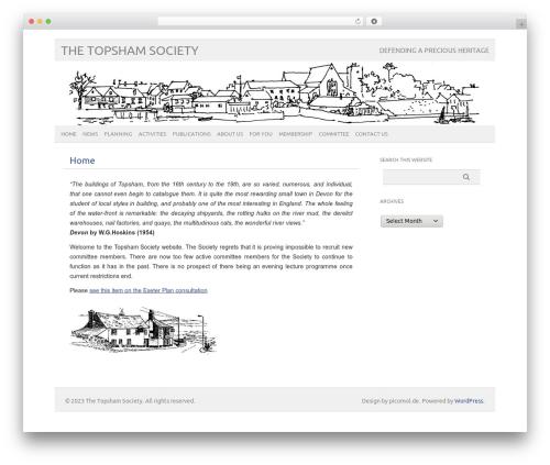 Template WordPress picolight - topshamsociety.uk