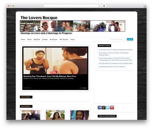 Template WordPress WP-Ellie - theloversrocque.com