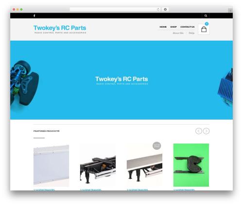 The Retailer top WordPress theme - twokeysrcparts.com.au