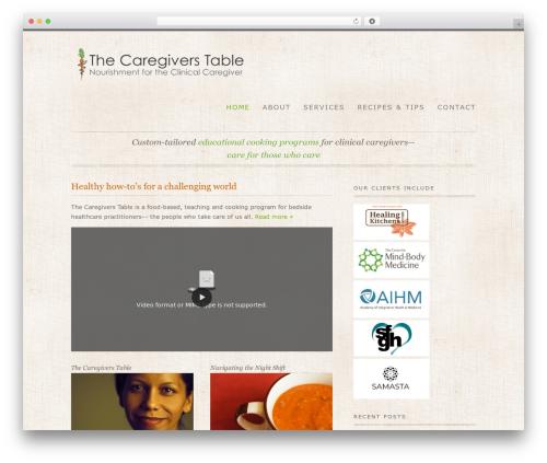 WordPress digg-digg plugin - thecaregiverstable.com