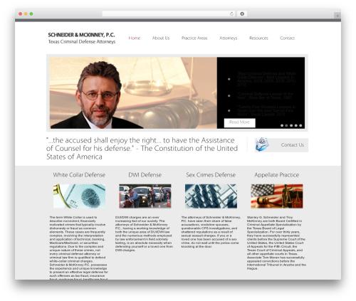 Theme WordPress Vulcan - texascriminaldefenselawyers.com