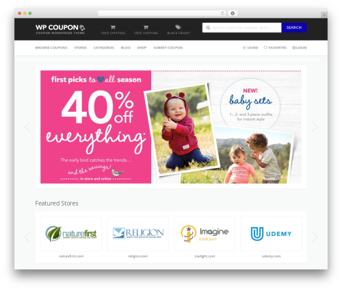 WP Coupon theme WordPress - thebestvouchercodes.co.uk
