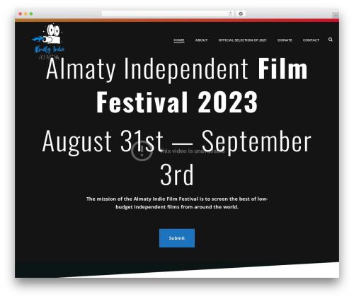 Jupiter WordPress theme - almatyfilmfest.com