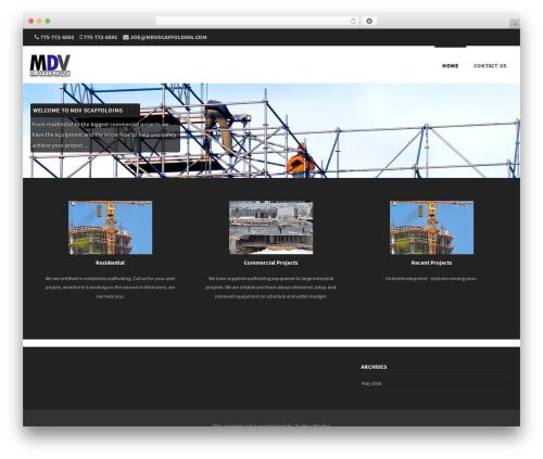 WordPress theme Formation - mdvscaffolding.com