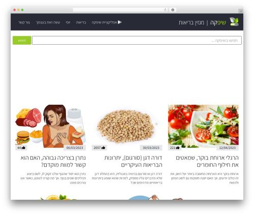 WordPress theme Scoop - shifke.com