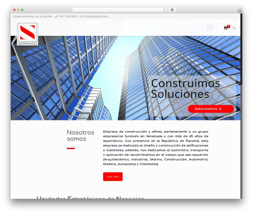 WP template Betheme - serpinco.com
