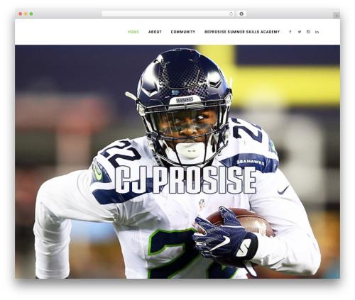 Template WordPress Bridge - cjprosiseofficial.com