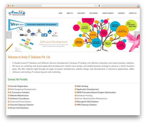Total best free WordPress theme - amityitsolutions.com
