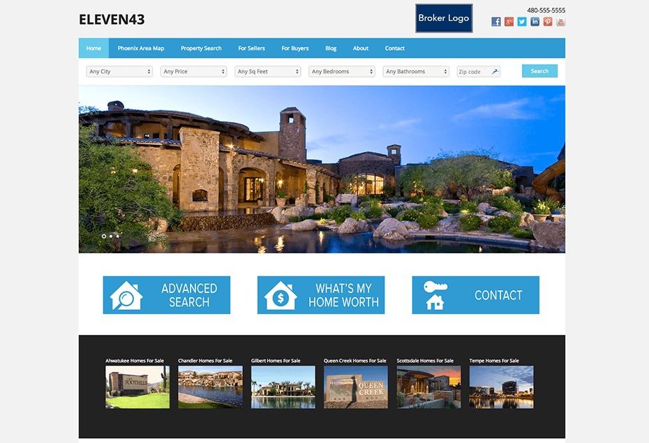 West USA - White Mountain WordPress website template