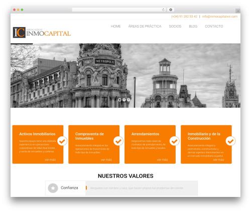 Arkitekt WordPress page template - inmocapitalxxi.com