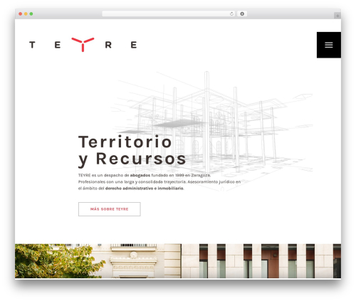 Stockholm template WordPress - teyre.com