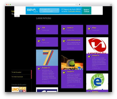Metro CreativeX free WordPress theme - logixtv.com
