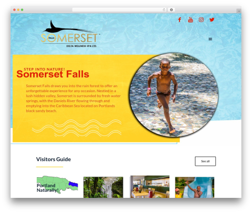 WordPress template Betheme - somerset-falls.com