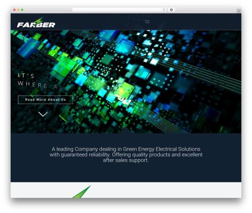 Best WordPress template Betheme - farberpower.com