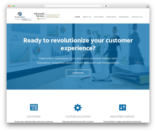 Genesis best WordPress theme - prenticeworx.com