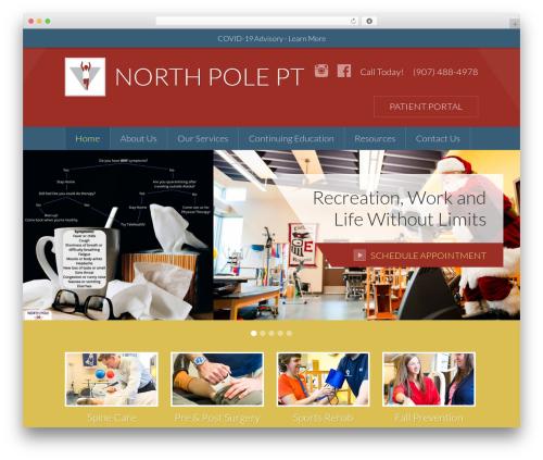 Theme WordPress Sundog CORE - northpolephysicaltherapy.com