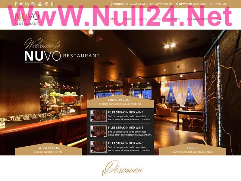 WP Nuvo-Null24.Net newspaper WordPress theme