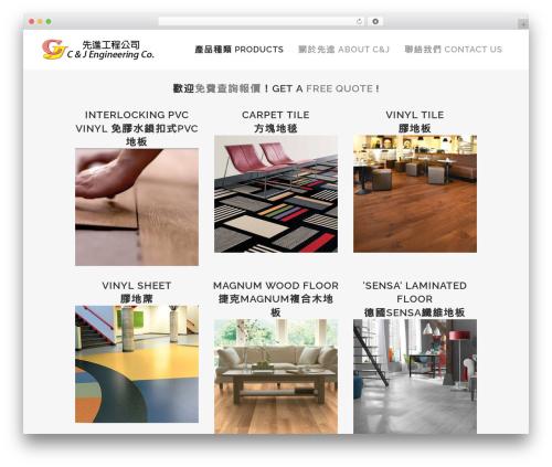 Bridge theme WordPress - cjengco.com