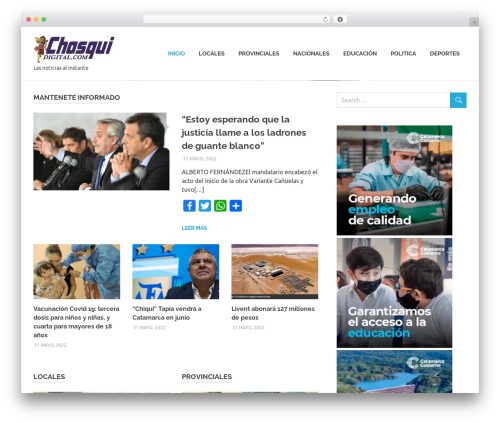 Poseidon WordPress free download - chasquidigital.com