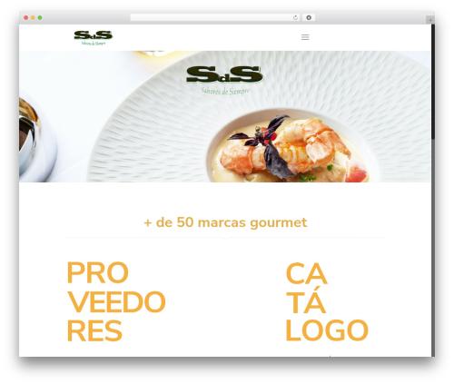 WordPress theme Betheme - sds-saboresdesiempre.com
