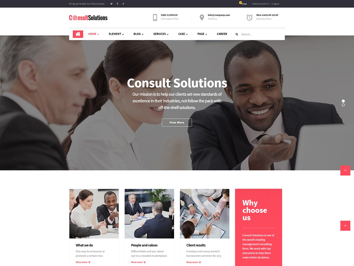 consultsolutions best WooCommerce theme