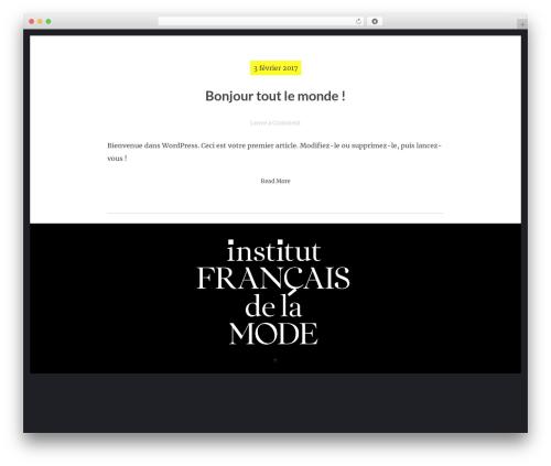 hexo free WordPress theme - forms-ifm-paris.com