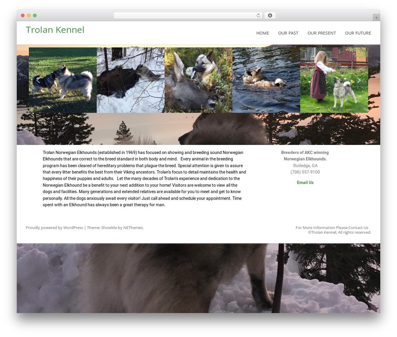 ShowMe WordPress theme - trolankennel.com