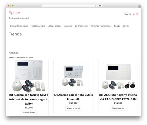 SmartShop WordPress ecommerce template - spiatv.com