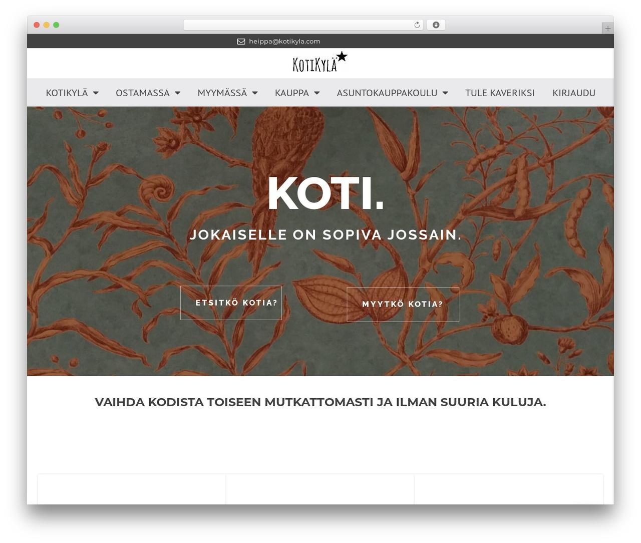 Theme WordPress Houzez by Favethemes   kotikyla.com