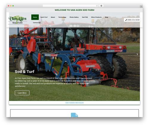 WordPress theme weblocal2018 - vanagensodfarm.com