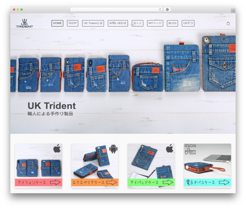 Theme WordPress Salient - uktrident.com