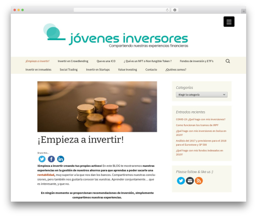 Twenty Thirteen WordPress free download - jovenesinversores.com