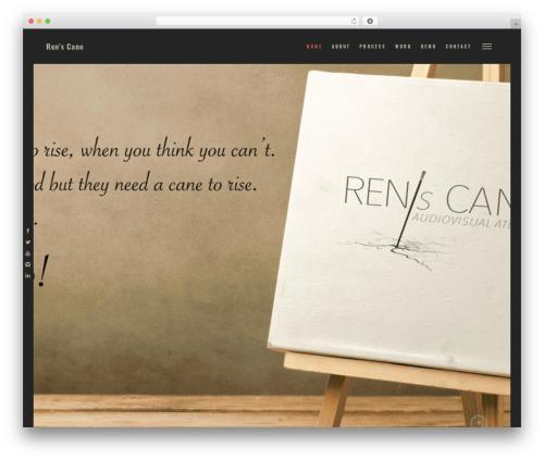 WordPress theme Layers - renscane.com