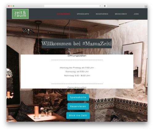 Basisframework best restaurant WordPress theme - zeiti.net