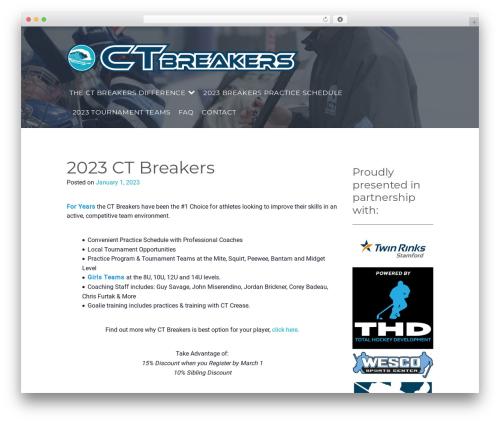 Gym Express Pro gym WordPress theme - ctbreakers.com