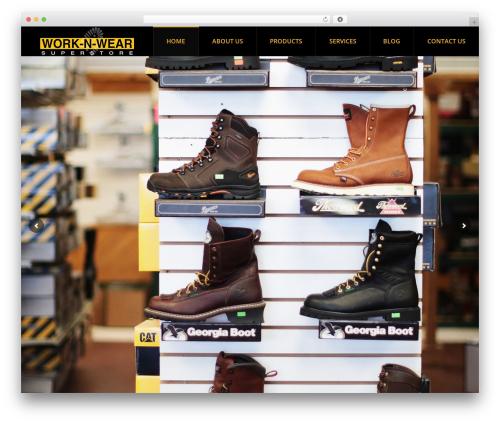 The7 WordPress ecommerce theme - worknwearsalem.com