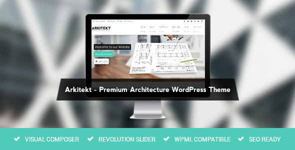 Arkitekt (Share On Theme123.Net) WordPress store theme