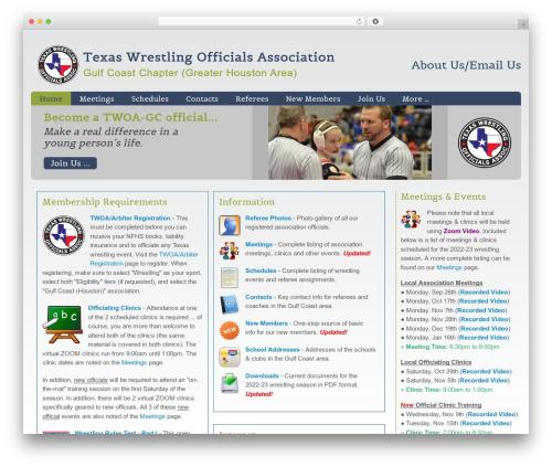 Augustus premium WordPress theme - twoa-gc.org/wp