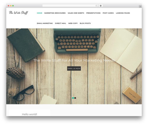 Bazaar Lite WordPress theme download - tomjburke.com