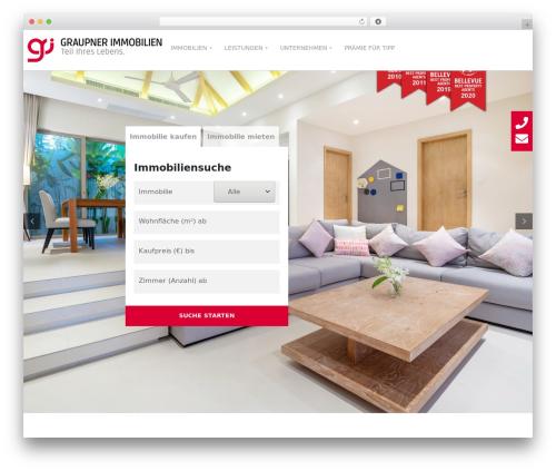Best WordPress theme opalhomes - graupner-immobilien.de