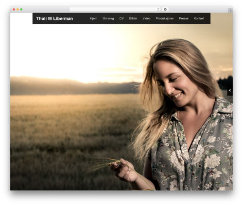 Black Label WP theme - thali.no