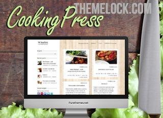 CookingPress (themelock.com) food WordPress theme