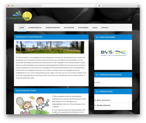 Delicate best WordPress template - tcmunstergeleen.nl