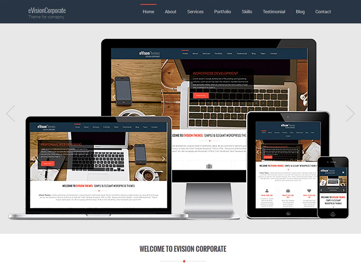 f40 personal blog WordPress theme