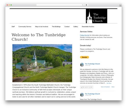 GeneratePress best free WordPress theme - tunbridgechurch.org