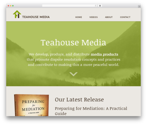 Genesis best WordPress video theme - teahousemedia.com