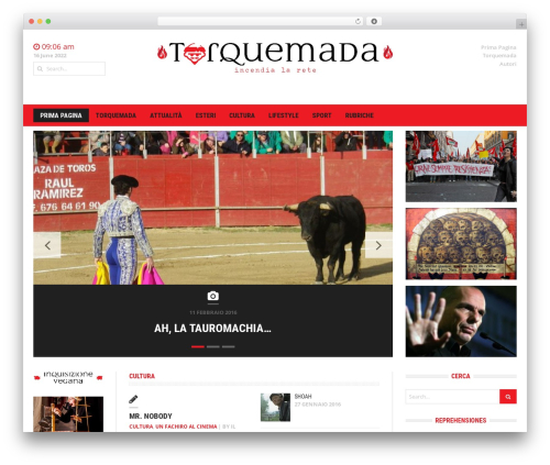 Headline News WordPress news template - torquemada.eu