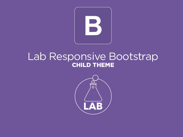 Lab Responsive Bootstrap top WordPress theme